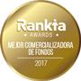 Premio Rankia 'Mejor Comercializadora de Fondos' 2017