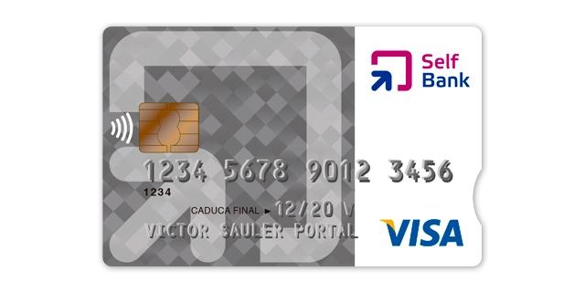 Tarjeta de crédito Visa Clásica y Visa Oro