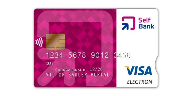 Tarjeta de débito Visa Electrón